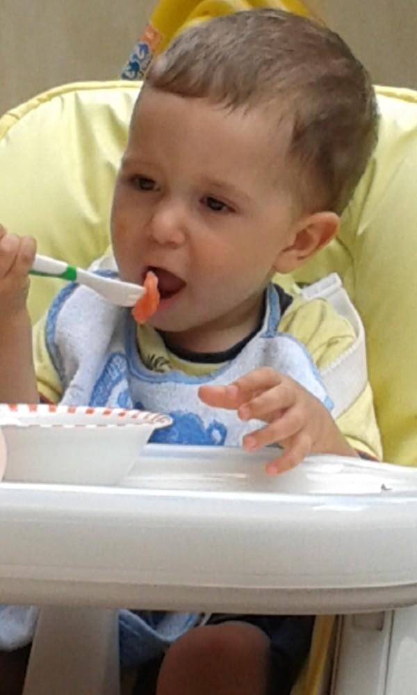 ciccio che mangia